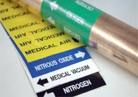 Medical Gas Pipe Markers